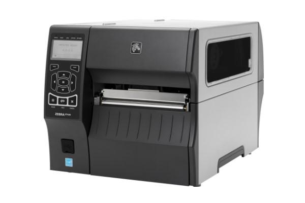 Máy in mã vạch công nghiệp Zebra ZT420 300dpi rewind